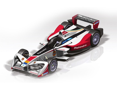 Mahindra Formula E Livery livery formula e racing