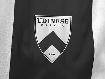 Udinese Calcio Logo Redesign serie a italy udinese calcio logo badge shirt crest soccer football