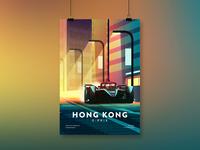 FIA Formula E – Hong Kong E-Prix Illustration