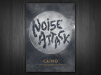 Noise Attack - gig poster