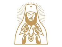 Happy Orthodox Priest & his bling