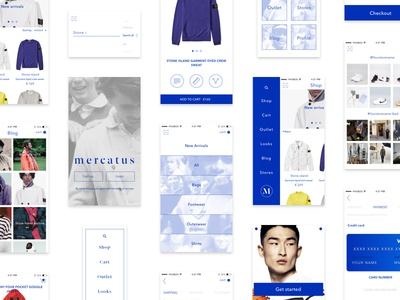 Presenting Mercatus - Our Free mCommerce ui kit