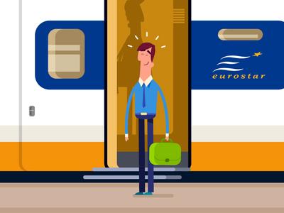 Arrival to Paris