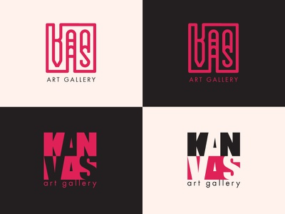 Kanvas kanvas canvas art art gallery brand logo