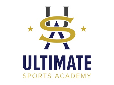 Ultimate Sports Academy branding logo design
