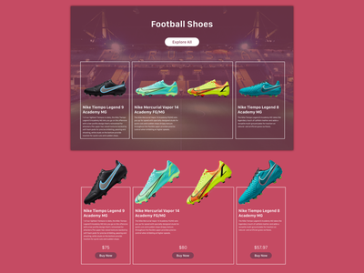Nike corporate page Re-design - Page 2 ux ui re-design nike graphic design design corporate adobexd