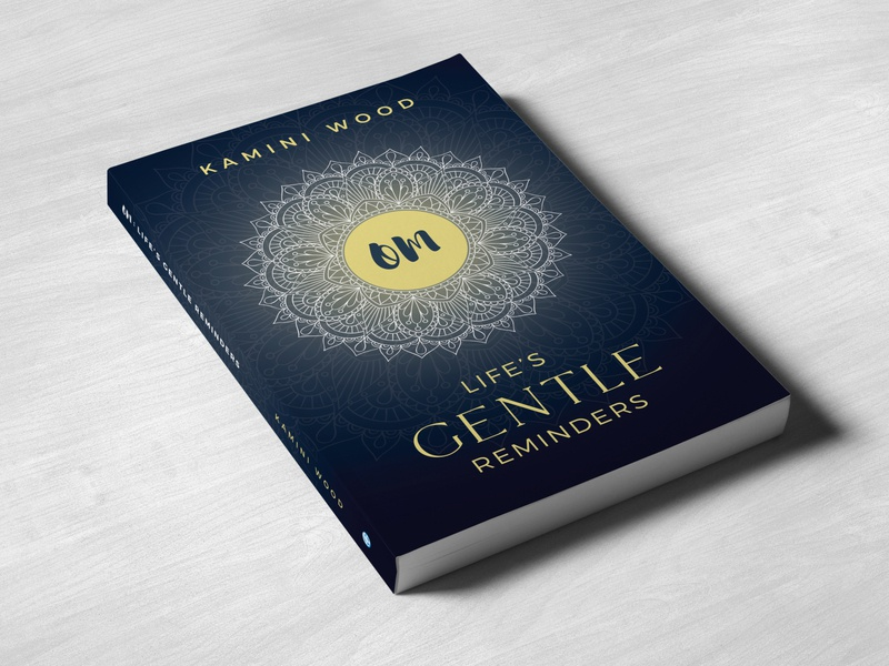 Om: Life's Gentle Reminders Book Cover Design