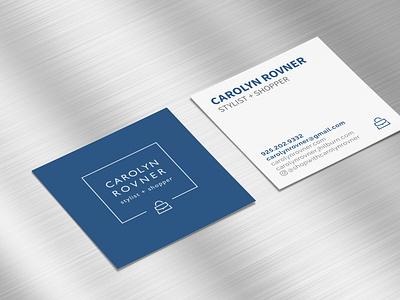 Carolyn Rovner Stylist + Shopper Business Cards businesscards