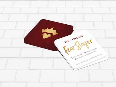 Fear Slayer Business Cards businesscard