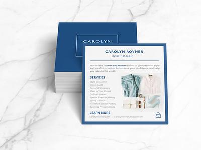 Carolyn Rovner Flier Design flier