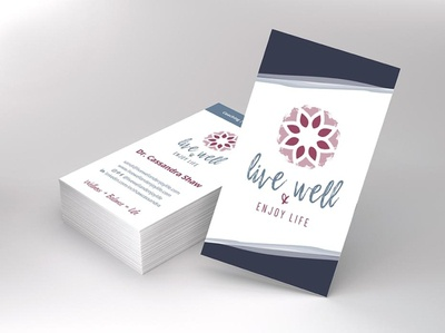 Live Well and Enjoy Live Business Cards