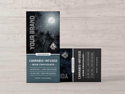 Cannabis Chocolate Packaging cannabis packaging cannabis branding