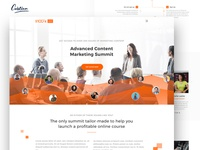 Website design for a great summit company-$100K