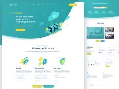 Landing Page for Nuvitek
