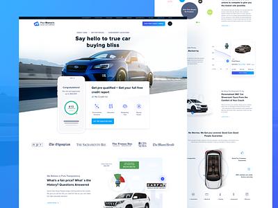 Car Dealer Website UI / UX audi credit rent car auto auto dealer leasing car dealer car branding typography ui web design web