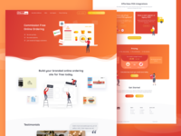 Landing Page ➡️The Ordering App