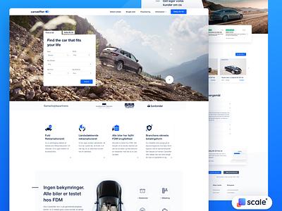 UI / UX design for an auto platform! ecommerce uxdesign car dealership car dealer auto cars car branding website ui web design design web