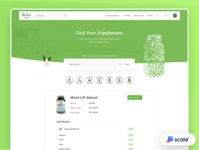 Supplements Shop-Laboratory Page