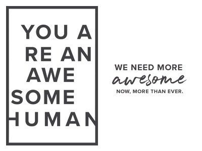 YAAAHS Logo slogo human awesome design logo