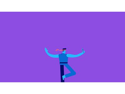 Balance goals short term long term explainer video motion design snippet animation illustration