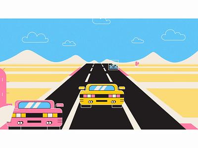 Neural Nets - Tesla Car educational video animation studio motion graphic explainer video motiongraphics motion snippet motion graphics motion design animation illustration