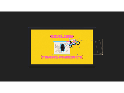 Realism and Transparency - Behind the Scenes after effects behind the scenes animation studio motion graphic explainer video motiongraphics motion snippet motion graphics motion design animation