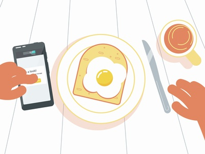 Eggs, toast and reliance