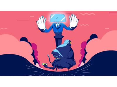 Procrastination, Blue Screen and RAM Eater