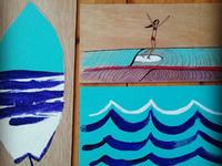 Waves On Wood