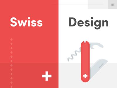 Swiss Design Artwort