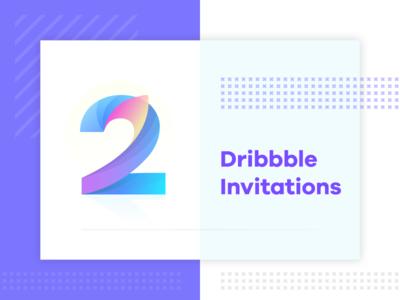 Illustration for Dribbble Invitations
