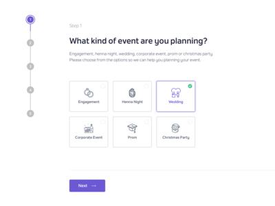 Event Planning Wizard
