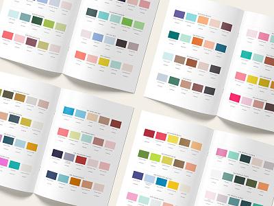 50 Color Palettes For Branding - Ebook Preview hex swatches ebook pdf indesign illustrator photoshop logo brand branding pantone color scheme color palette color