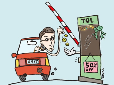 Discounts on toll during holiday season