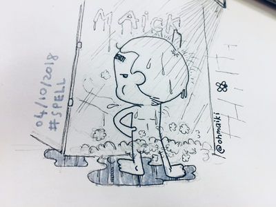 Spell (Inktober 2018 - Day 4) maikicomics spell miniihairaa ohmaiki inktober2018 inktober