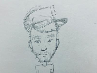 Self wip rough sketch self