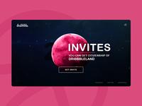 2x Dribbble Invite!