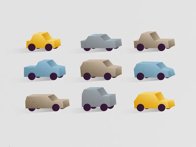 Cars automotive auto cars animation motion design vector design illustration