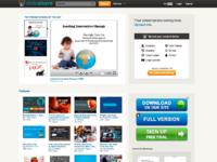 Slideshare old homepage