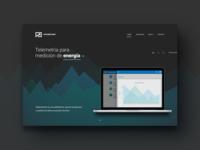 Telemetry Platform Landing Page