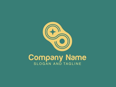 Pre-made LOGO for sale - Loop and star