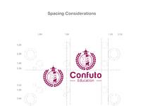20170501 confuto education logo outline cc r10 01 spacing considerations 150dpi space