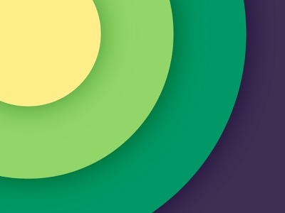 Color Palette 02 - Yellow to Green color green yellow invite invitation mack studio mack chan hong kong dribbble hk 香港 yellow to green color palette
