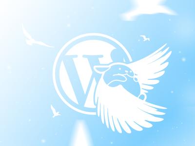 Freedom Wapuu【追逐自由的哇噗】 wordcamp wordpress vector branding illustration china mack chan taiwan wapuu minimalism hong kong