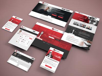 CERCLOO website identity ui ux illustration logotype website web design