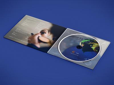 NUMEN Cover art music art identity design illustration cover art