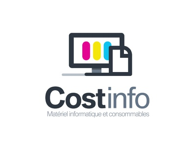 Logo cost info cmjn rvb quadri flat logo logotype screen computer colors print
