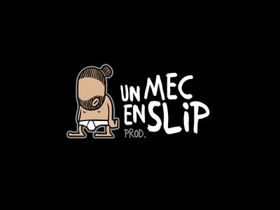 Logo Un Mec En Slip documentary cinema prod production video comics illustration logo logotype studio