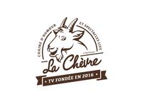 Logo La Chevre TV program