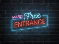 Free entrance